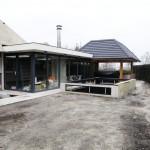 Aanbouw Terrasoverkapping met Jacuzzi