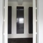 Schuifdeuren van badkamer naar slaapkamer